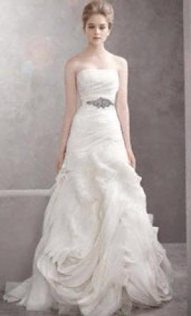 80173e86a1 New With Tags Vera Wang White Wedding Dress VW351001
