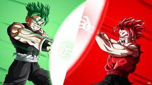 Battle of OCs animation : Atzuma VS Dede ! by Maniaxoi | dbz