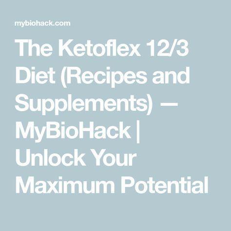 ketoflex 12 3 diet recipes