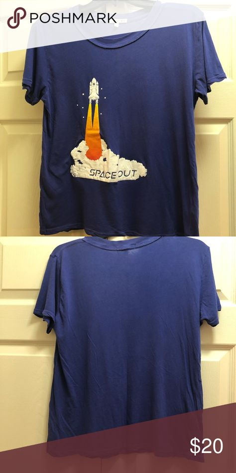 50cb2efa Urban Outfitters Graphic tee Bought at Urban Outfitters Graphic space tee  Never worn Urban Outfitters Tops