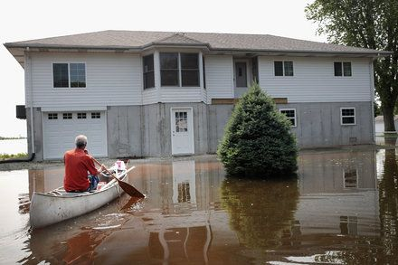Even As Floods Worsen With Climate Change Fewer People Insure