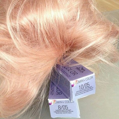 Oooh i am buying these toners fo sho. Rose gold wella