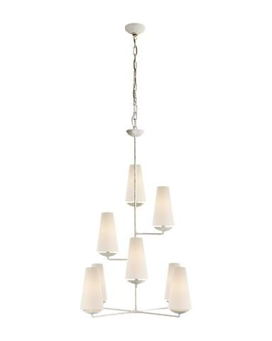 Piaf Chandelier Grande Aged Iron In 2020 With Images