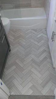 The Inexplicable Mystery Into Herringbone Bathroom Floor Bathroom Floor Tiles Trendy Bathroom Unique Bathroom