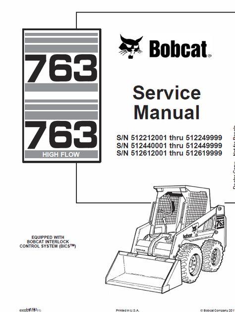 Bobcat Schematics - Wiring Diagrams Dock