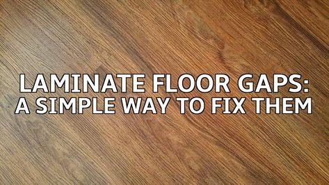 Fix Floor Gaps