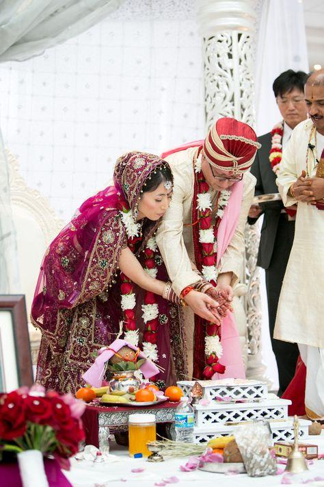 A Gorgeous Indian Korean Wedding