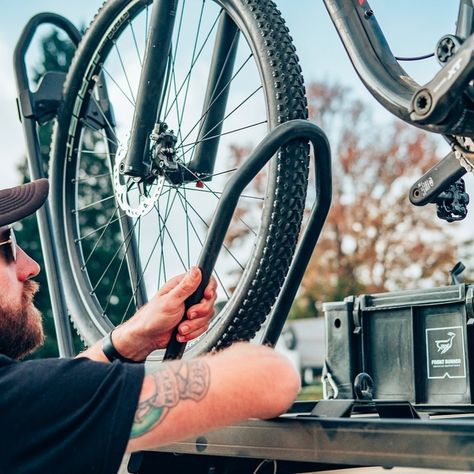 Safely And Securely Transport Your Bike With The Front Runner Pro