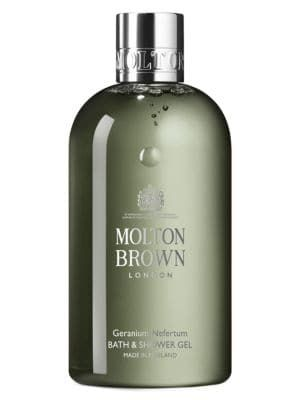 Molton Brown Geranium Nefertum Bath Shower Gel Moltonbrown