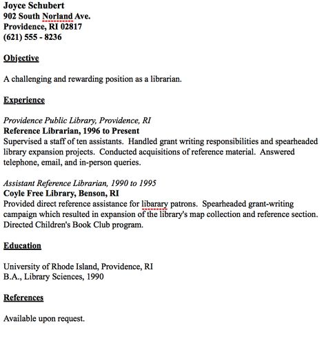 Public Librarian Resume Sample 2015 Career Pinterest Sample - resume for librarian