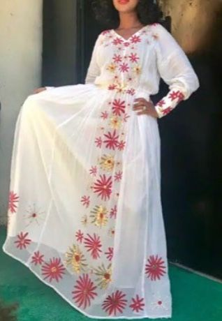 Idea By Ethio7 On Ethiopian Traditional Clothes Ethiopian Dress