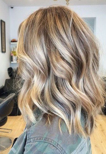 Keratin U Tip Human Hair Extensions Blonde Highlighted 16 22 Dark Blonde Hair Color Hair Styles Medium Hair Styles
