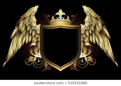 Ornate Frame With Place For Your Text Logotipo De Arte