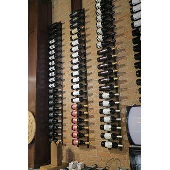 Vintner 126 Bottle Floor Wine Bottle Rack Bottle Wall Wine