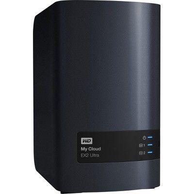 Wdbvbz0160jch Nesn Wd 16tb My Cloud Ex2 Ultra Network Attached Storage Nas Wdbvbz0160jch Nesn Network Attached Storage Storage Server Nas Storage