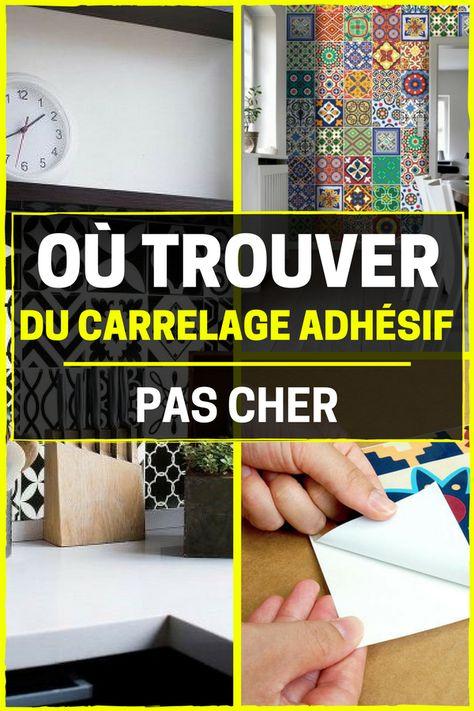 Le Carrelage Adhésif Carreaux de Ciment : Un Relooking ...