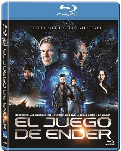 El Juego De Ender Blu Ray Juego Ender Blu Ray Ender S Game Movie Ender S Game Good Movies
