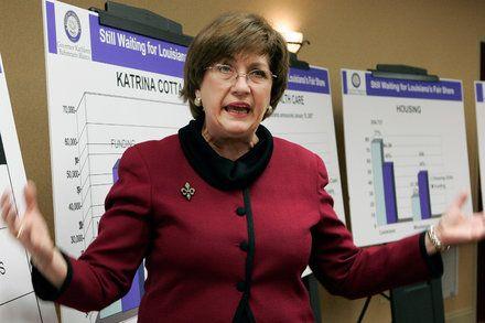 Kathleen Blanco Louisiana Governor During Hurricane Katrina Dies
