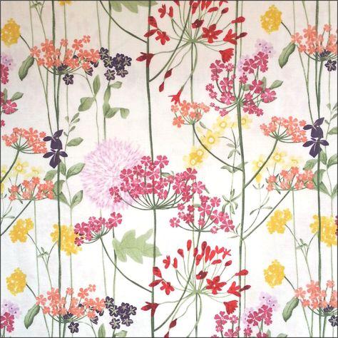 150cm Polyester Satin Flower-Power ca