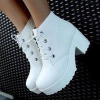 There are 9 tips to buy these shoes: creepers grunge heels sneakers soft grunge lolita kawaii gyaru anime platform boots pastel goth high heels platform denise…