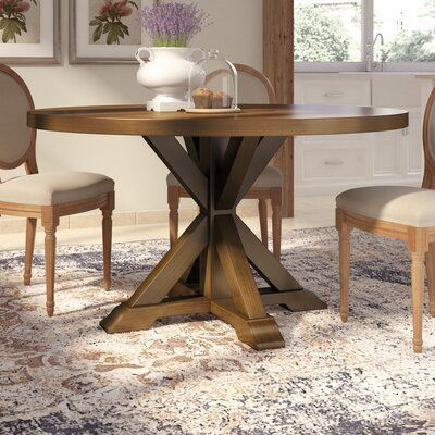 Laurel Foundry Modern Farmhouse Sydney Dining Table Color Smoke In 2020 Table Decor Living Room Dining Table Modern Farmhouse Table