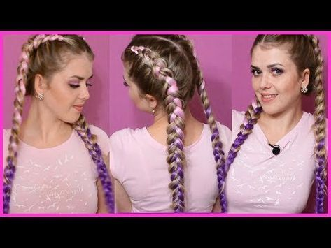 How To Add Extensions Into Dutch Braids For Only 3 Dollars