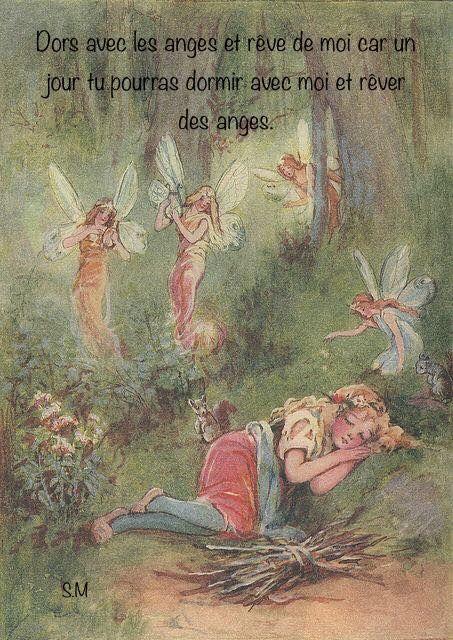 08 09 Dors Avec Les Anges Et Reve De Moi Car Un Jour Tu Pourras Dormir Avec Moi Et Rever Des Anges Ethereal Art Fairytale Art Fairy Art
