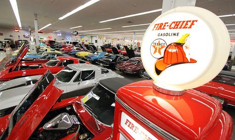 Rick Treworgy's Muscle Car City in Punta Gorda features about 180 completely restored cars, most of them from the 1950s, 60s and 70s and all of them General Motors makes.