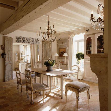 Decoration Maison De Campagne Un Melange De Styles Chic