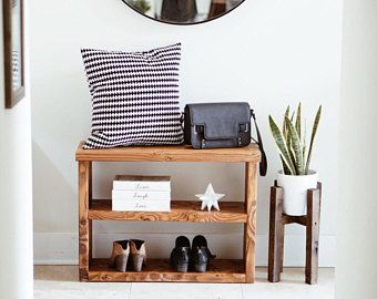 Shoe Rack Console Table Entryway