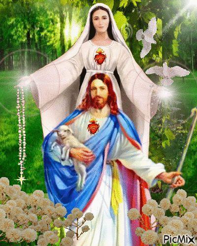 Jesus e Maria - PicMix