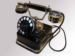 Aut Station Mod 1909 Retro Telefon Altes Telefon Telefon