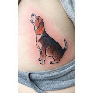 Beagle Beagle Tattoo Beagle Inspirational Tattoos