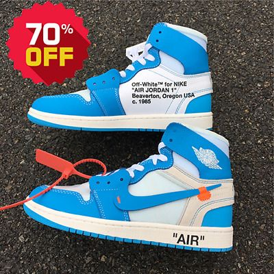 Ad Ebay Nike Off White X Air Jordan 1 High Og Nrg Unc