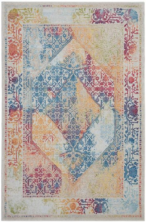 Lend global vintage appeal to your home with this Nourison Boho I rug.