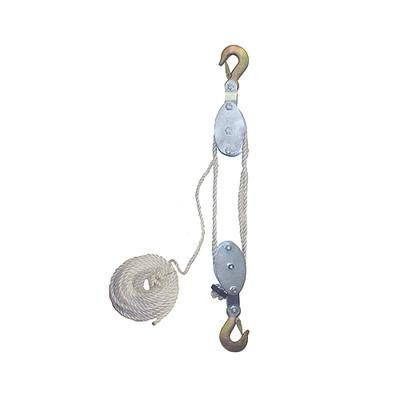 4000 Lb Cap Hand Rope Block And Tackle Pulley System In 2020 Block And Tackle Pulleys And Gears Pulley