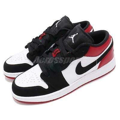 Nike 709999 Kids Youth Boys Air Jordan 1 Low Top Leather Shoes Sneakers