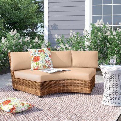 Sol 72 Outdoor Waterbury Patio Chair With Cushions In 2020