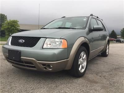 Taurus X Freestyle Sel 2006 Ford Freestyle Sel 3 0l V6 Fwd Green 3rd Row Suv No Reserve 3rd Row Suv Freestyle Taurus