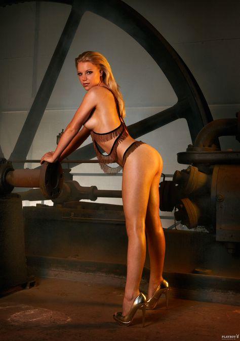 Stewardess in nylons