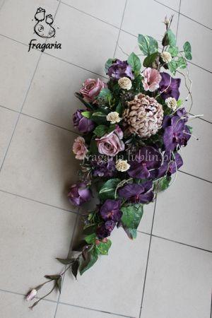 Fiolet I Bez Fresh Flowers Arrangements Funeral Flowers Flower Arrangements