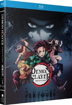 New On Blu Ray Demon Slayer Kimetsu No Yaiba Part One Slayer Anime Demon