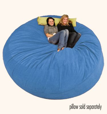 Large Bean Bag Chair   8 Ft Sack Micro Suede Royal Blue | Beanbag For River  | Pinterest | Large Bean Bag Chairs, Large Beu2026