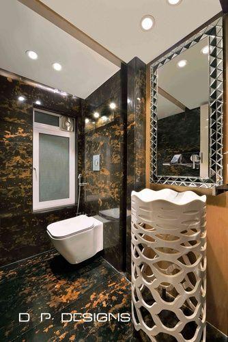S Residence By D P Designs Piyush Dharani Interior Designer In Mumbai Maharashtra India Luxu Bathroom Interior Bathroom Design Inspiration Toilet Design