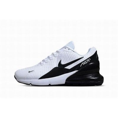 Nike Air Max 270 Blanc Noir Hommes #NikeAirMax | Nike air ...
