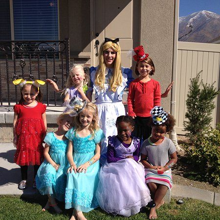 The Real Alice At A Mad Tea Party Birthday Part Of Your World Princess Parties Utah Www Partofyourworldprincesspar Princess Party Tea Party Birthday Princess