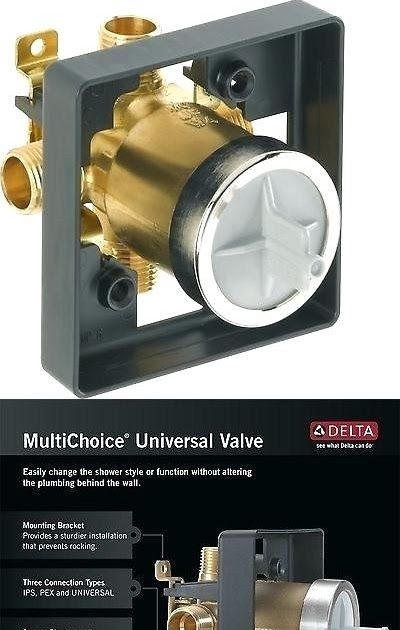 Delta Faucet R10000 Unbxhf Multichoice Universal Shower Valve Body