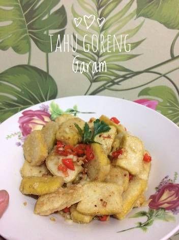 Resep Tahu Goreng Garem Oleh Nisa Syabilla Resep Resep Makanan Resep Tahu Makanan