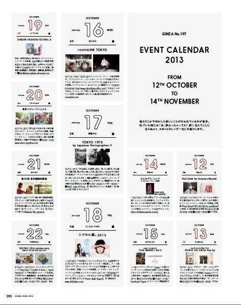 multi-event\/ calendar idea advertise-able Pinterest - event calendar