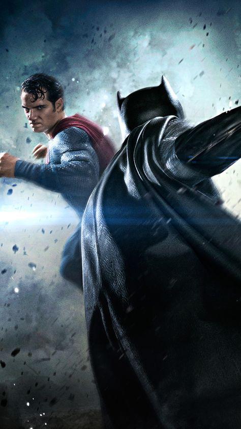 Batman Vs Superman Movie Fight Iphone 6 Plus Hd Wallpaper